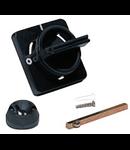Maner pentru capac sau usa rabatabila negru pentru separator DILOS 4