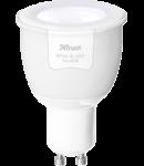 Bec Zigbee alb cad si rece GU10 comanda wireless - smart home Zigbee ZLED-TUNEG6