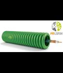 Tub copex cablat, cablu coaxial RG6