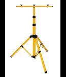 Suport reglabil dublu pentru proiectoare iluminat H1.55 metri
