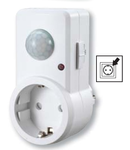 Detector de misc.infrarosu cu priza, alb TMB-DA 230V, 120°, 2-9 m, 10 s-7 min, 3-2000lux, IP20