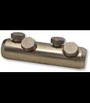 Mufa din aluminiu cu surub AT95-150CS 95-150mm2,(2+2)×M16