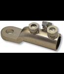 Papuc aluminiu cu surub  185-240 MM cu limitator de strangere (ruperea capului)