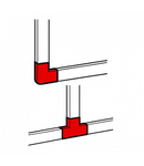 Derivatie plana pentru  profil DLP-S 80x50