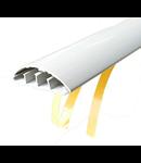 Canal de cablu de podea 50x16 culoare Alb