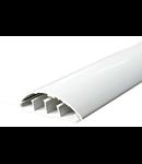 Canal de cablu de podea 50x16 alb fara adeziv