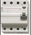 Intrerupator tetrapolar diferential RCCB/BP 4P/AC 25A/0,3MA