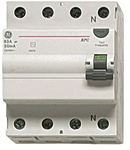 Intrerupator tetrapolar diferential RCCB/BP 4P/AC 80A/0,3MA