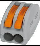 Clema rapida conexiune 2x0.75-4 mmp