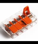 Clema rapida conexiune 5x0.14-4mmp