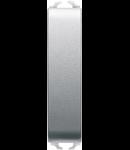 Intrerupator ingust 16A Gewiss Chorus Argintiu 1/2 module