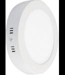 Spot  LED aparent  diametru 225mm. 18W lumina rece 6500K
