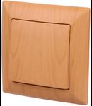 Intrerupator simplu 10A imitatie lemn culoare Artar