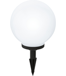 Corp de iluminat solar Glob 300mm diametru 1x0.08w