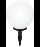 Corp de iluminat solar Glob 200mm diametru 1x0.08w