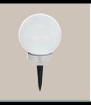 Corp de iluminat solar Glob 150mm diametru 2x0.06w