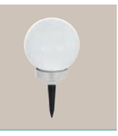 Corp de iluminat solar Glob 200mm diametru 2x0.06w