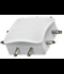 "Conector imbinare plana  ""cruce"" pentru  bagheta LED LINK"