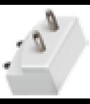 """Conector imbinare verticala  pe colt """"L"""" pentru  bagheta LED LINK"""