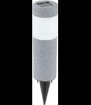 Corp de iluminat solar Tarus 65mm diametru 1x0.06w