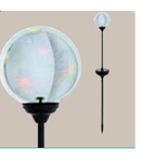 Corp de iluminat solar Glob 90mm diametru 1x0.06w