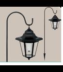 Lampa solaraSOLAR negru ohne