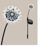 Corp  de iluminat solar Floare  45mm diametru 1x0.06w