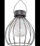 Lampa de iluminat solara 120mm diametru 3x0.06w