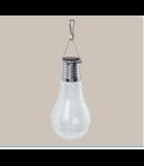 Lampa solaraSOLAR silver ohne