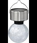 Lampa solaraSOLAR inox ohne