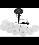 Lampa de iluminat solara 70mm diametru 10x 0.06w