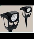 Corp  de iluminat solar Proiector  110mm diametru 1x0.1w