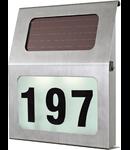 Aplica solara de exterior   40mm diametru 2x 0.06w