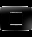 Placa ornament  One  Chorus Toner Negru-2 module
