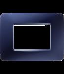 Placa ornament  One  Chorus Topaz Blue  -3 module