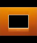 Placa ornament  Geo  Chorus Opal Orange - 3 module