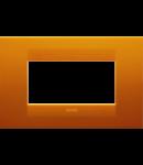 Placa ornament  Geo  Chorus Opal Orange - 4 module
