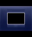 Placa ornament  Geo  Chorus Albastru Topaz - 3 module