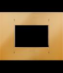 Placa ornament  Geo Plates  Chorus Auriu - 3 module