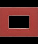 Placa ornament  Geo Plates  Chorus Rubin - 3 module