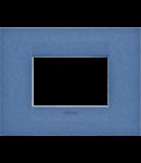 Placa ornament  Geo Plates  Chorus Bleumarin - 3 module
