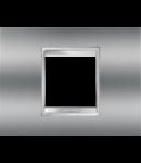 Placa ornament Lux  Chorus Crom- 2 module