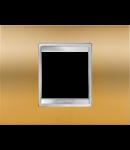 Placa ornament Lux  Chorus Auriu - 2 module