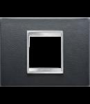 Placa ornament Lux  Chorus Negru  - 2 module