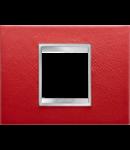 Placa ornament Lux  Chorus Rubin  - 2 module