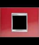 Placa ornament Lux  Chorus Rosu  Glamour - 2 module