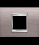 Placa ornament Lux  Chorus Aluminiu Texturat - 2 module