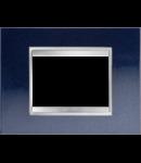 Placa ornament Lux  Chorus Albastru Chic- 3module