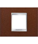 Placa ornament  Lux Chorus Fier Oxidat - 4 module