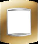 Placa ornament  Art Chorus Auriu  - 2 module